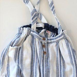 Zara size 2/3 suspender dress